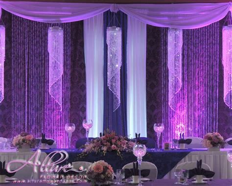 crystal curtains wedding fancy backdrop with crystal chanderliers curtains
