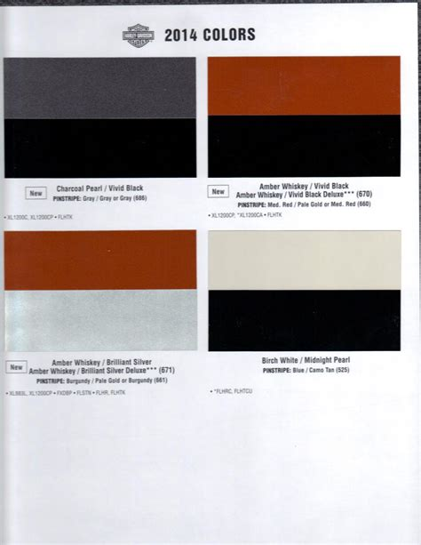 2015 harley davidson paint color codes autos post