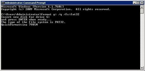 how to format flash disk on cmd way2usefullinfo format pendrive using command prompt