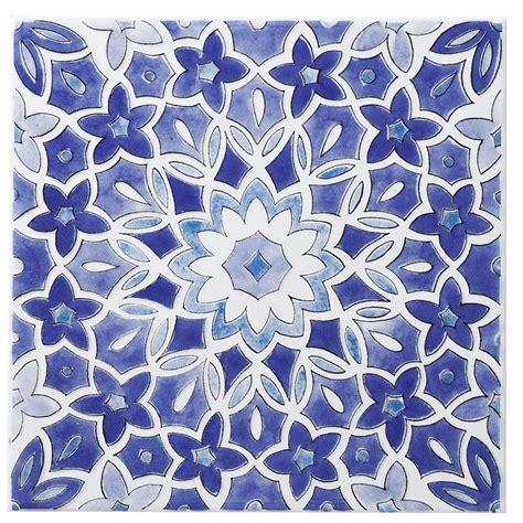 blue and white ceramic l fleur blue ceramic wall tile l 200mm w 200mm azulejos