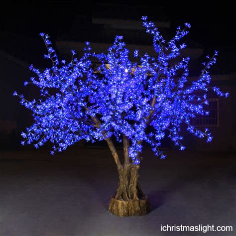 blue led cherry blossom tree wholesale ichristmaslight
