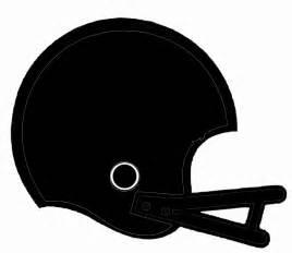 Football Helmet Outline Profile by Black Football Helmet Clip At Clker Vector Clip Royalty Free Domain