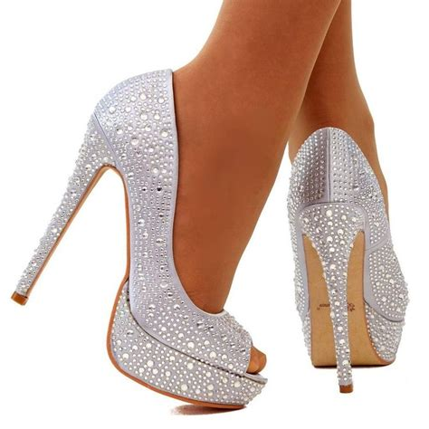 silver high heels pumps 156 best silver high heels images on