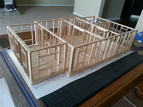 amityville house popsicle stick youtube house plans