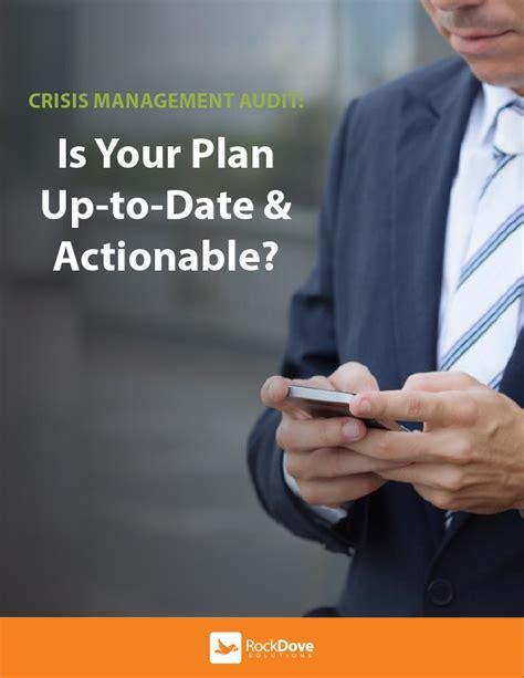 Ebook8 Audit crisis management plan audit