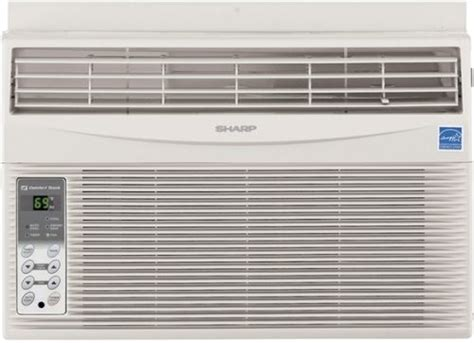 sharp comfort touch air conditioner sharp af s60rx window air conditioner 6 000 btu cooling