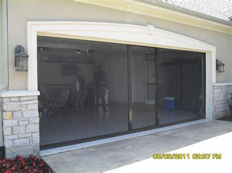 glass panel roll up door inside motorized retractable garage door screens exterior doors