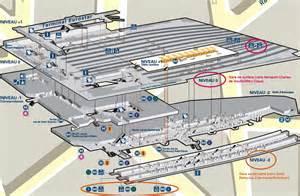 plan de la gare du nord 224