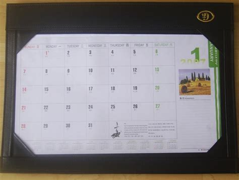 what is a desk blotter calendar desk writing mat calendar blotter table planner china