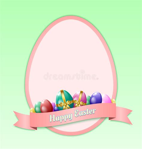 free easter card templates for photographers happy easter greeting card template stock vector