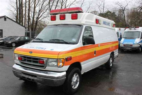 ford econoline e350 1997 emergency fire trucks ford e350 2002 emergency fire trucks