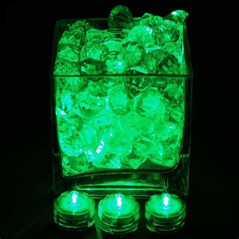Waterproof Vase Lights by Brilliant Submersible Vase Lights Led Green 12 Pk Efavormart