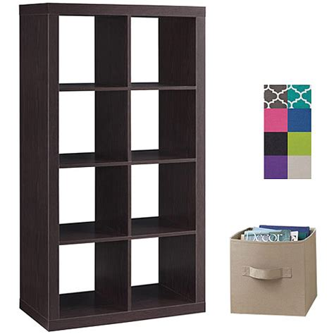 better homes and gardens 8 cube organizer with 4