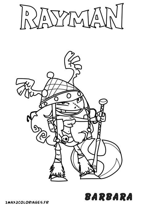 54 dessins de coloriage rayman 174 origins 224 imprimer