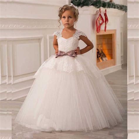 imagenes de vestidos de primera comunion para ninas vestidos de vestidos de primera comuni 243 n con encajes y bordados