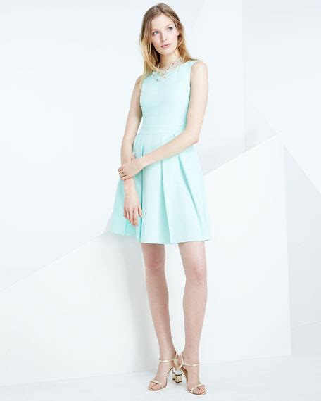 Mini Bow Back Dress kate spade new york sleeveless bow back mini dress mint