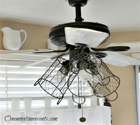 farmhouse style ceiling fans hometalk how i gave my ceiling fan a farmhouse style