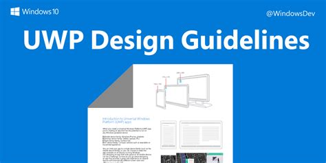design guidelines uwp windows developer on twitter quot download a handy pdf of