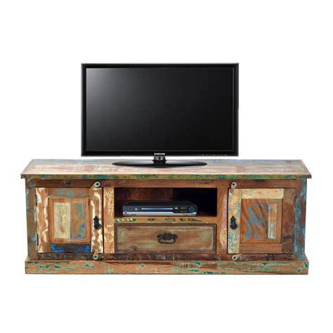 tv meubel van hout tv meubel van gerecycled hout lavis otar lumz nl