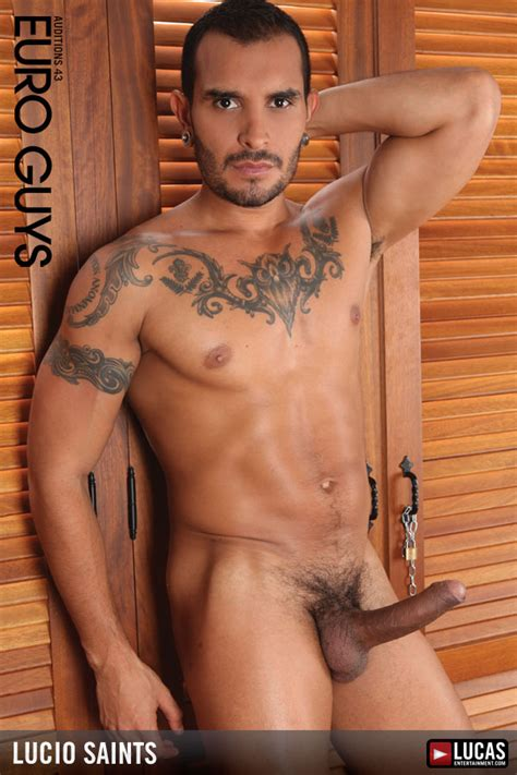 Lucio Saints Gay Porn Models Lucas Entertainment Official Website