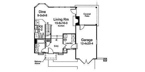 cotswold cottage home plan 007d 0217 house plans and more