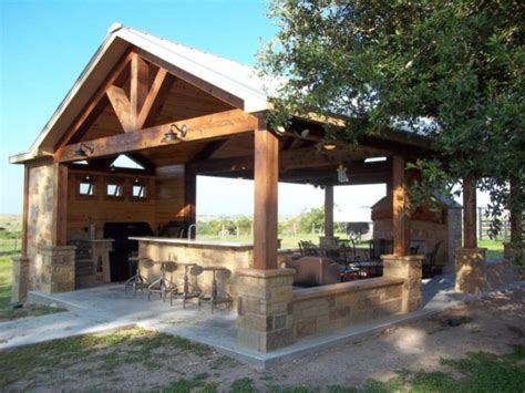 outdoor pergolas covered outdoor kitchen weatherproof creative pergola designs and diy options