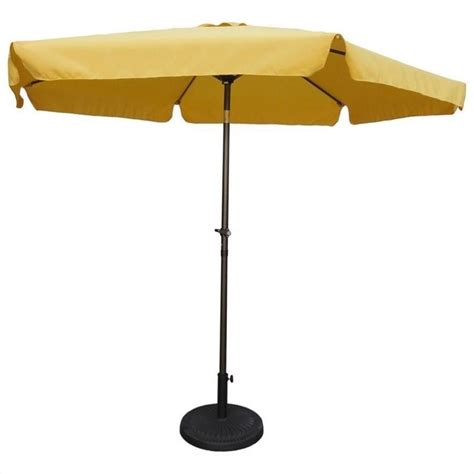 Yellow Patio Umbrella Patio Umbrella In Lemon Yellow Yf 1104 2 7m Ly