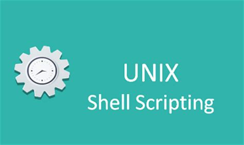 online tutorial unix shell scripting unix shell scripting training online with live projects