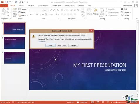 tutorial powerpoint 2013 youtube powerpoint 2013 tutorial backstage view protecting