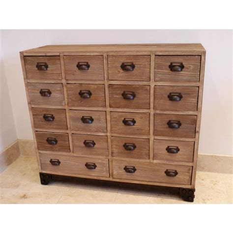 Apothecary Drawers by 18 Drawer Apothecary Cabinet By Cambrewood