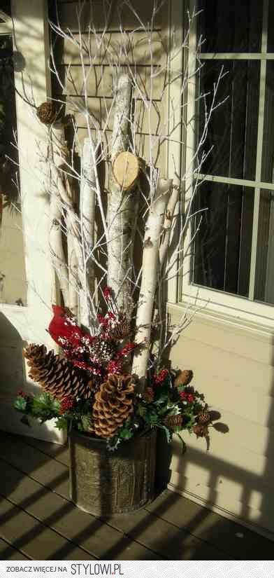 images  christmas decor  pinterest birch