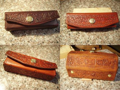 Handmade Harmonica - handmade handcrafted leather harmonica cases by gene s