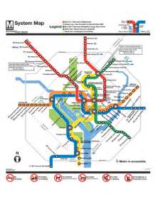 Dc Metro Map Pdf official washington dc metro map washington dc mappery