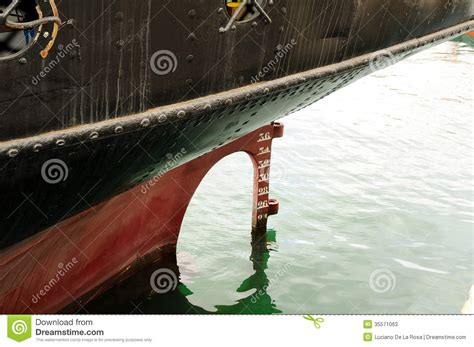 stern boat rudder old stern of ship with and rudder stock photos image