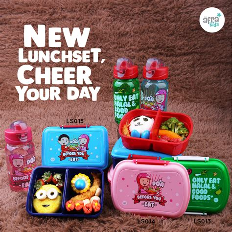 Afrakids Lunch Set by Keluarga Afra