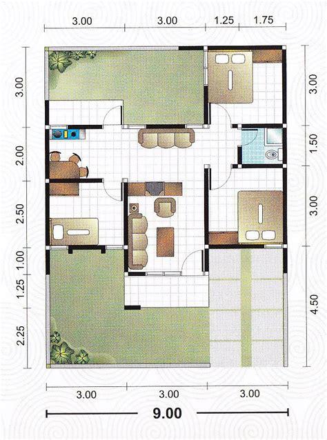 gambar desain rumah 8 x 12 hontoh