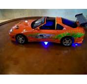 18 Toyota Supra Twin Turbo Fast And Furious Diecast Toy Car Wit