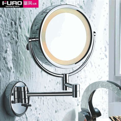 bathroom makeup mirrors fuao wall mounted bathroom makeup mirror with led light