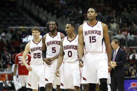 atlanta hawks atlanta hawks starting five named nba player of the month