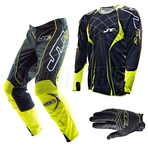 jt racing motocross gear 2013 jt racing evo lite motocross kit combo lazer black