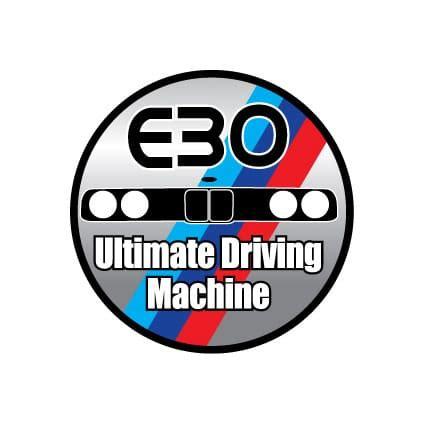 Auto Sticker Bmw by Bmw E30 Sticker Stickythings Nl
