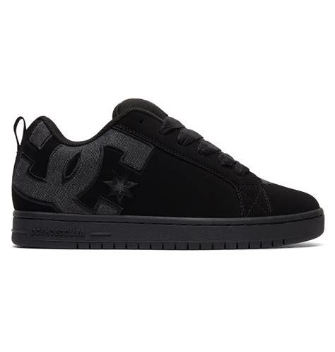 dcshoes black s court graffik se shoes 300927 dc shoes