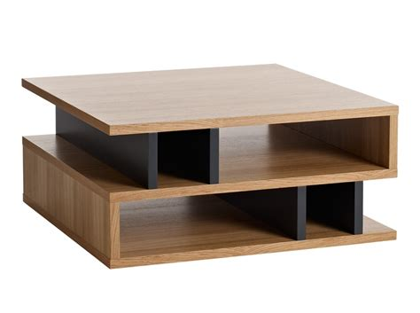 Coffee Table Meja Teh Meja Minimalis furniture counter balance square coffee table with shelves system for living room saving space