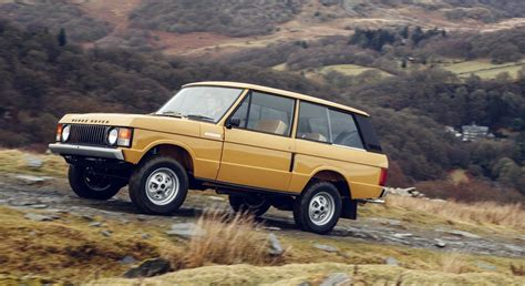 land rover vintage land rover to release brand new 1978 3 door range rover