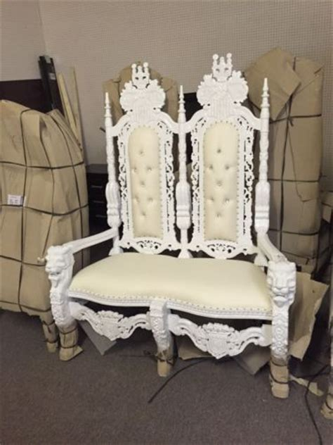 king and chairs for sale 1 day sale groom wedding salon boudoir event king