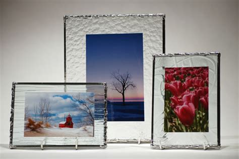 n glass photo frames