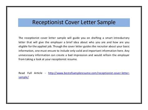 Dental Receptionist Cover Letter – Dental Receptionist Cover Letter Example ? Cover Letters