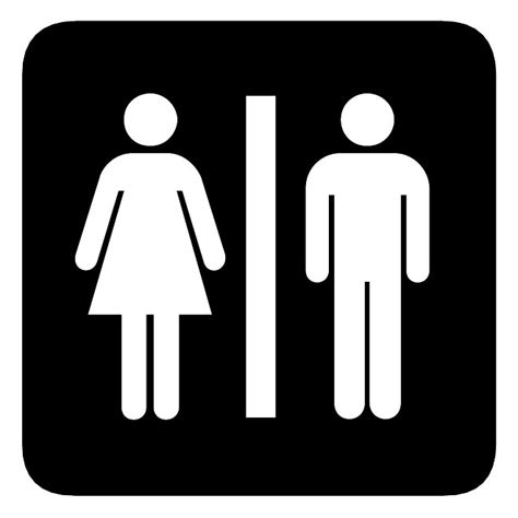 bathroom symbols restroom vector sign download at vectorportal