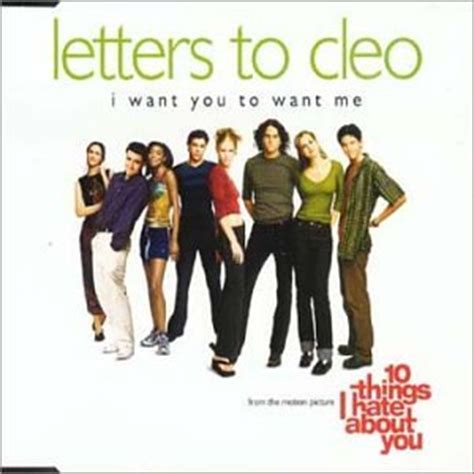Letter From Me To You Lyrics I Want You To Want Me By Letters To Cleo Co Uk
