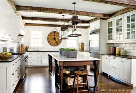 rustic white kitchen 3 more ways to make your kitchen look vintage